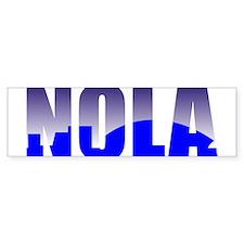 NOLA Bumper Bumper Bumper Sticker
