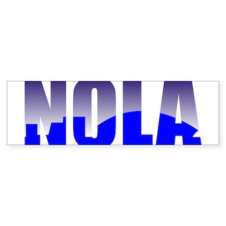 NOLA Bumper Sticker