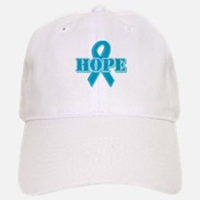 Teal Hope Ribbon Baseball Baseball Cap