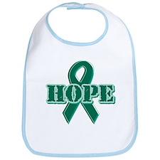 Green Hope Ribbon Bib