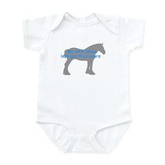 Clydesdale Infant Bodysuit