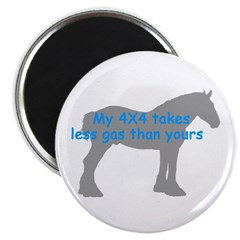 """Clydesdale 2.25"""" Magnet (100 pack)"""