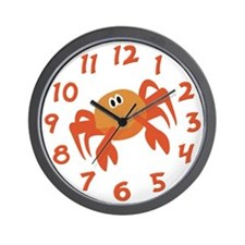 Crab Wall Clock