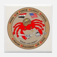 IRAQI FLT SCHOOL Tile Coaster