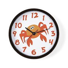 Funny Crabby Wall Clock