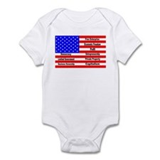 Cute Business holiday Infant Bodysuit