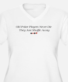 Old Poker Players T-Shirt