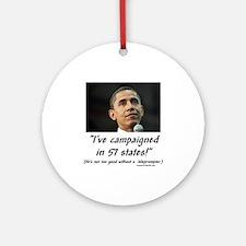 """57 States?"" Ornament (Round)"
