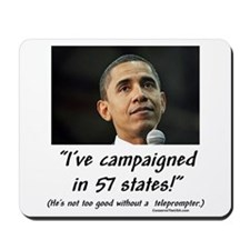 """57 States?"" Mousepad"