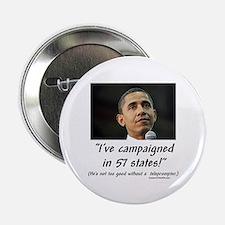 """""""57 States?"""" 2.25"""" Button"""