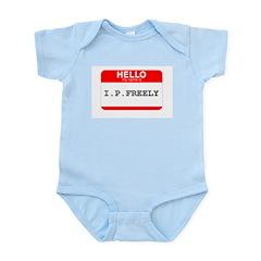 I. P. FREELY Infant Bodysuit
