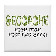 Geocache! Tile Coaster