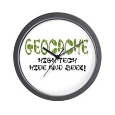 Geocache! Wall Clock