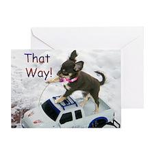 Chihuahua Trucker Greeting Card