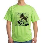 Chihuahua Trucker Green T-Shirt