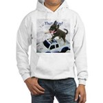 Chihuahua Trucker Hooded Sweatshirt