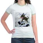 Chihuahua Trucker Jr. Ringer T-Shirt