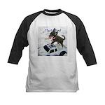 Chihuahua Trucker Kids Baseball Jersey
