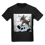 Chihuahua Trucker Kids Dark T-Shirt