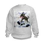 Chihuahua Trucker Kids Sweatshirt