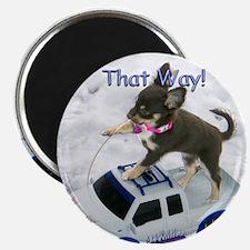 Chihuahua Trucker Magnet