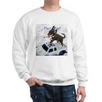 Chihuahua Trucker Sweatshirt