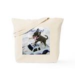 Chihuahua Trucker Tote Bag