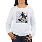 Chihuahua Trucker Women's Long Sleeve T-Shirt