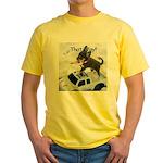 Chihuahua Trucker Yellow T-Shirt