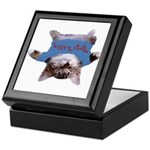 Yoga Kitty Cat Keepsake Box