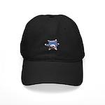 Yoga Kitty Cat Black Cap