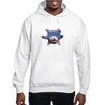 Yoga Kitty Cat Hooded Sweatshirt