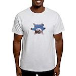 Yoga Kitty Cat Light T-Shirt