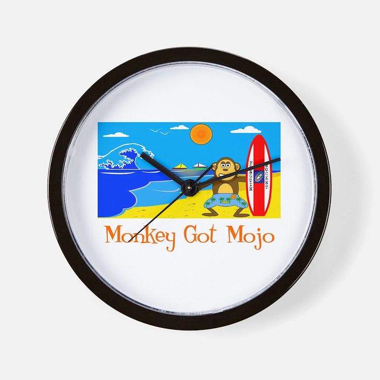 Monkey Got Mojo Wall Clock