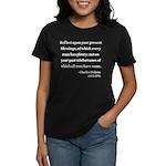 Charles Dickens 6 Women's Dark T-Shirt