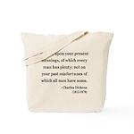 Charles Dickens 6 Tote Bag