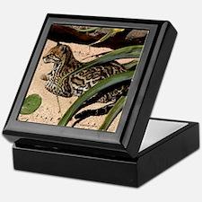 Ocelot Keepsake Box