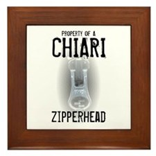 Property of A Chiari Zipperhead Framed Tile