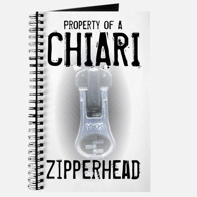 Property of A Chiari Zipperhead Journal