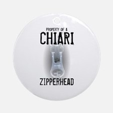 Property of A Chiari Zipperhead Ornament (Round)