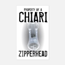 Property of A Chiari Zipperhead Decal