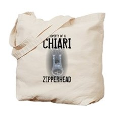 Property of A Chiari Zipperhead Tote Bag