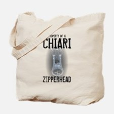 Property of A Chiari Zipperhead Tote Bag