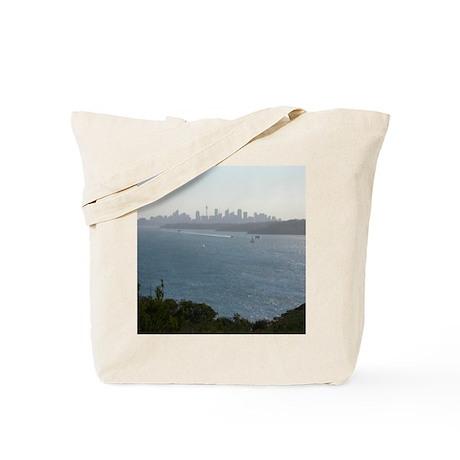 Sydney Harbour City Skyline Tote Bag