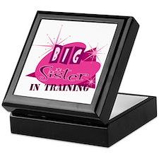 Cute Big sister in training Keepsake Box