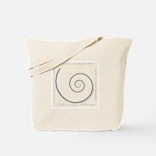 Spiral, Ancient Symbol of Rebirth Tote Bag