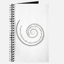 Spiral, Ancient Symbol of Rebirth Journal