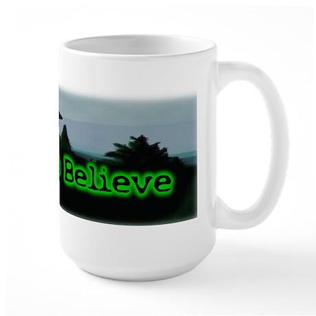 I Want To Believe Large Mug