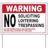 No solicitation sign Yard Signs
