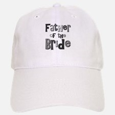 Father of the Bride Wedding Party Baseball Baseball Cap